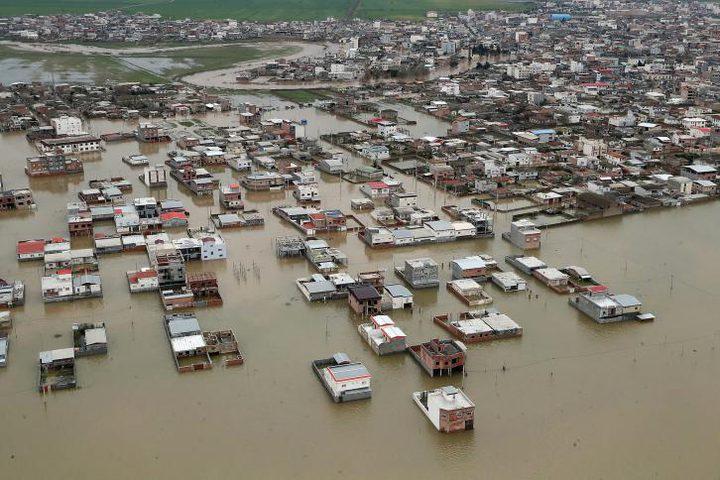 ارتفاع عدد ضحايا سيول وفيضانات إيران إلى 38 قتيلا