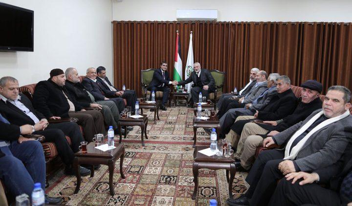 الكشف عن تفاصيل اجتماع الوفد المصري مع الفصائل