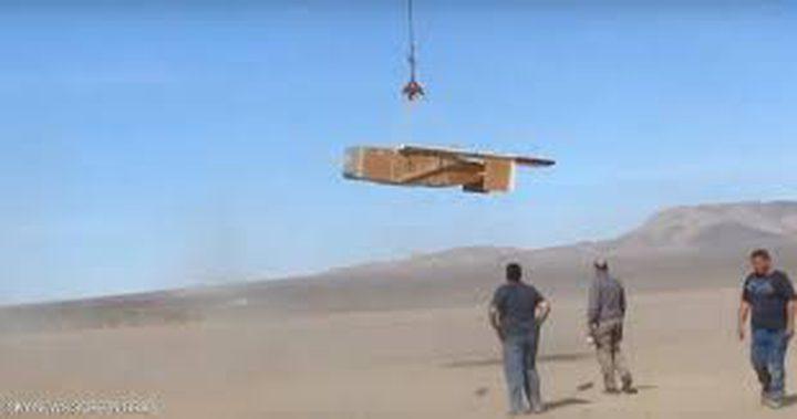 """بالفيديو.. الجيش الأميركي يختبر طائرة """"الرحلة الواحدة"""""""