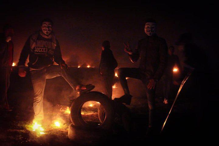 إصابات في فعاليات الارباك الليلي شرق قطاع غزة