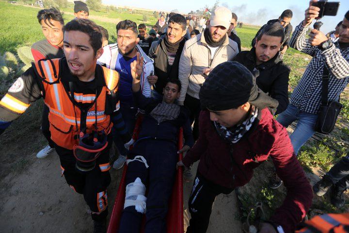 إصابات بالرصاص الحي والإختناق شرق قطاع غزة