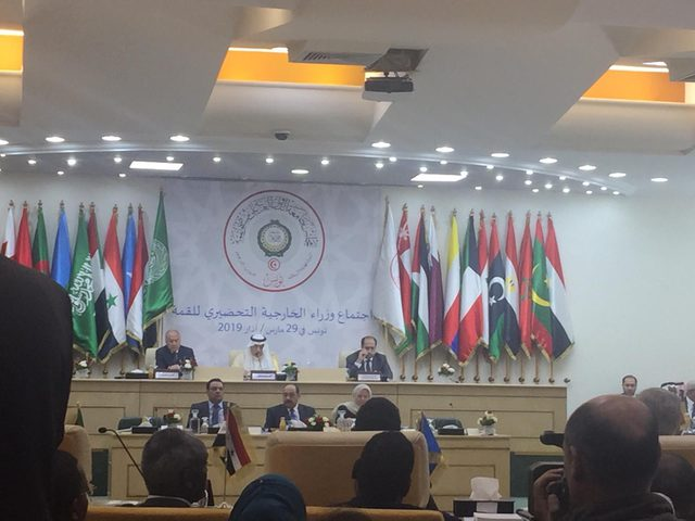 تونس: انطلاق اجتماع وزراء الخارجية العرب التحضيري للقمة العربية