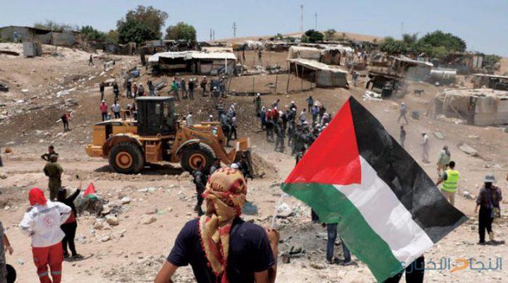 الخان الأحمر: إحياء ذكرى تأسيس جبهة التحرير العربية ويوم الأرض