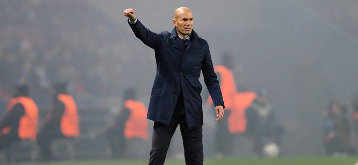 زيدان يجد حل أزمة ريال مدريد في إيطاليا