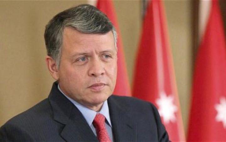 العاهل الأردني: نأمل قيام دولة فلسطين وعاصمتها القدس الشرقية