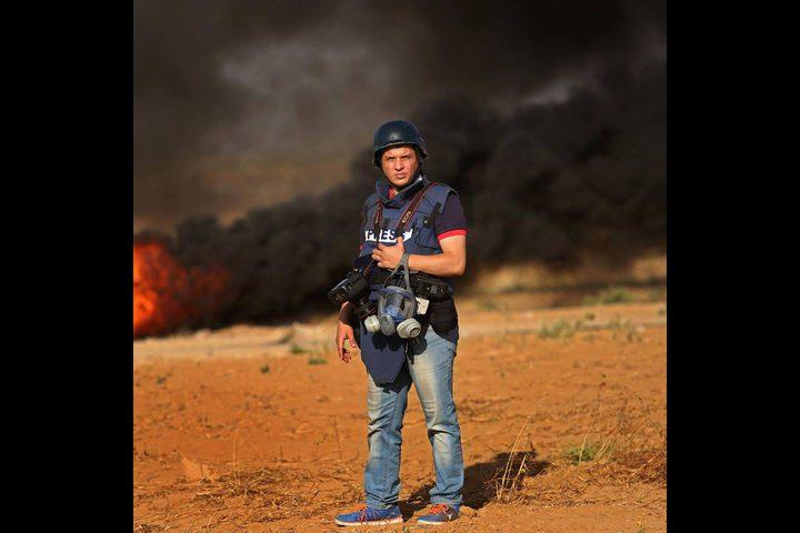مصور صحفي من غزة يفوز بجائزة الصحافة العربية للعام 2019