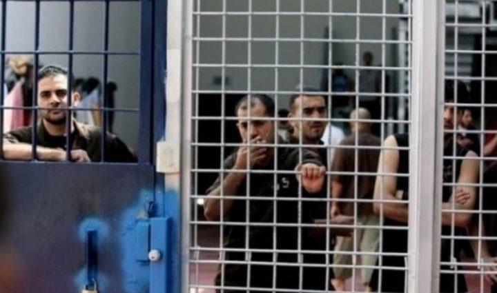 الاسرى سيشرعون بالإضراب عن الطعام في7 نيسان القادم