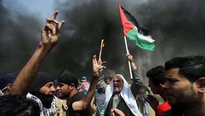 """4 شهداء ومئات الاصابات خلال قمع الاحتلال لـ""""مليونية العودة"""""""