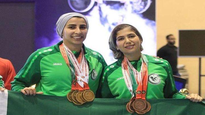 سعوديات يحققن الفوز ببطولة آسيا لرفع الأثقال