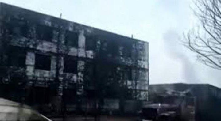 إنفجار داخل مصنع في الصين