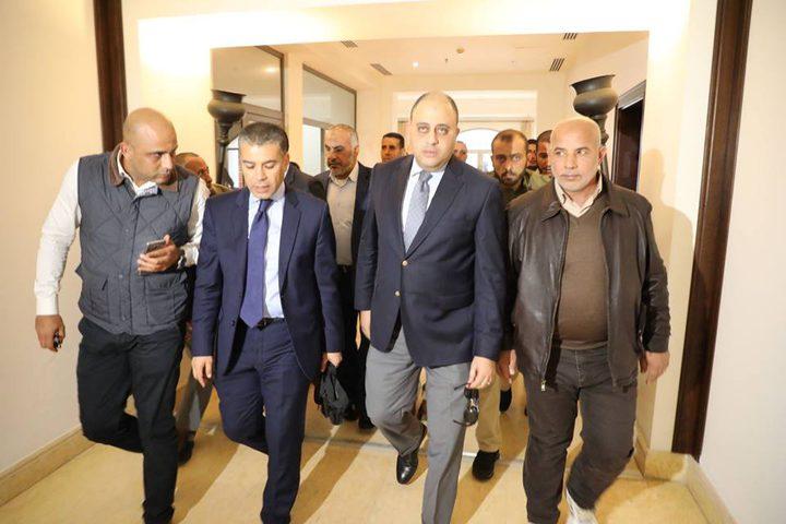 الوفد الأمني المصري في غزة لليوم الرابع
