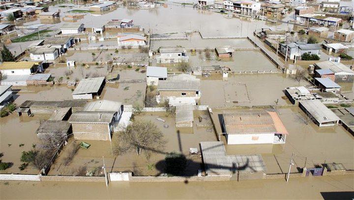 شبح الفيضانات يهدّد حياة 25 ألف شخص في إيران
