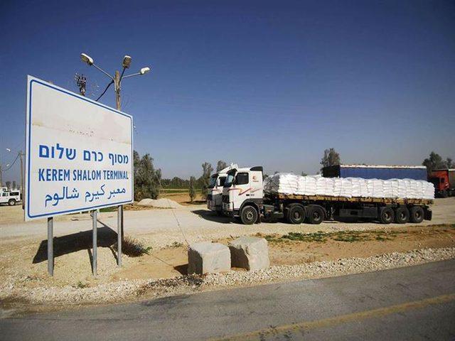 الاحتلال يُعيد فتح معابر غزة بعد إغلاقها 6 أيام