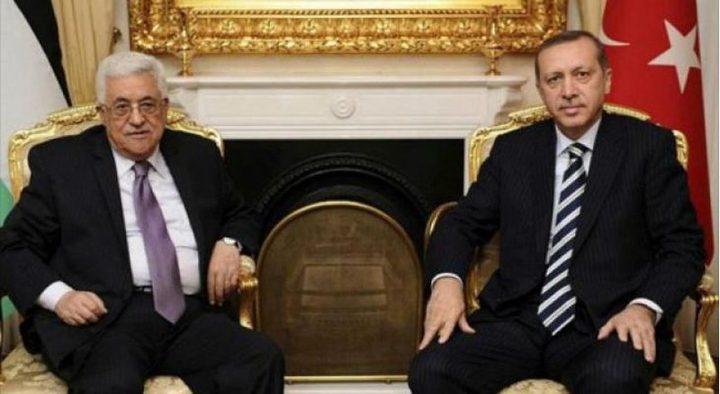 الرئيس يهنئ أردوغان بفوز حزبه في الانتخابات المحلية