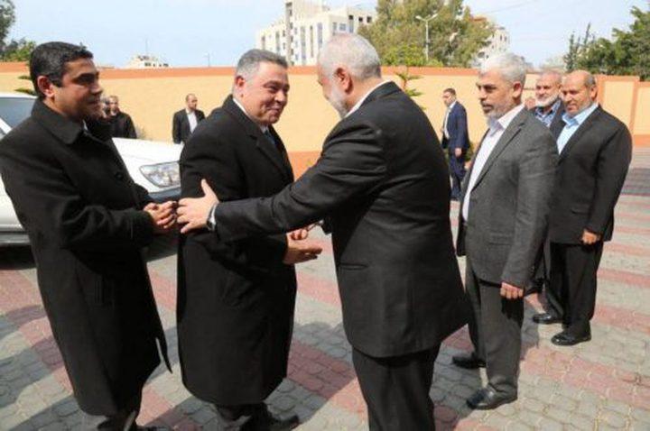 الوفد الأمني المصري يغادر غزة