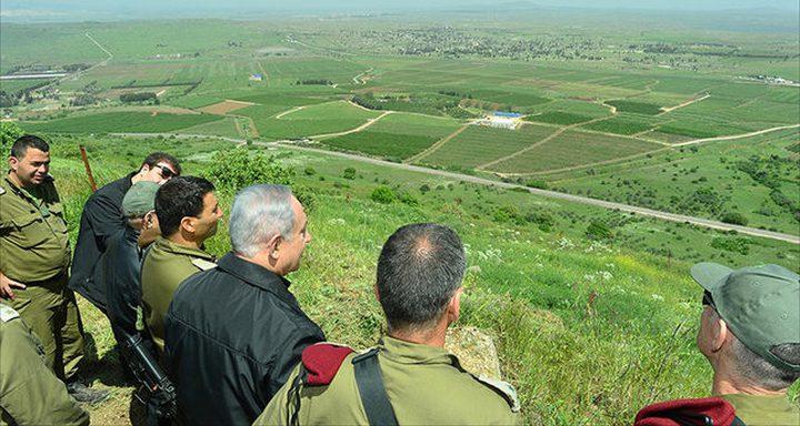 خطة إسرائيلية لإسكان ربع مليون مستوطن بالجولان