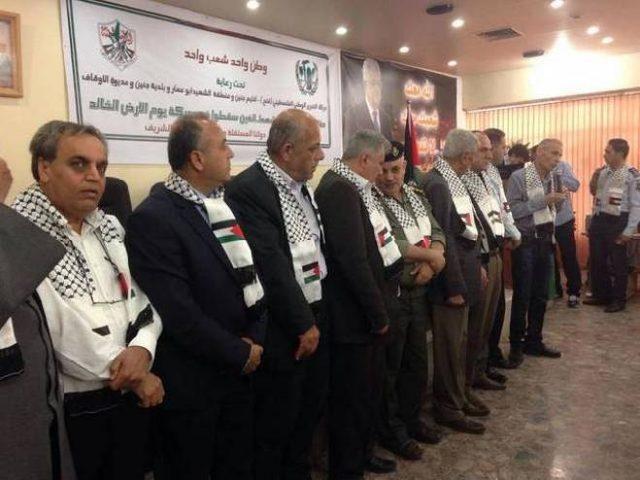 برعاية محافظ جنين: فتح تكرم شهداء يوم الأرض من أراضي الـ48