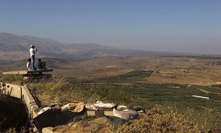 """الاحتلال يخطط """"لتوطين"""" 250 ألف مستوطن في الجولان"""