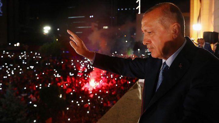 """الرئيس أردوغان: """"العدالة والتنمية"""" فاز بـ 56% من البلديات"""