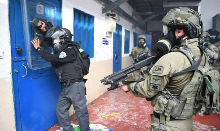 وحدات القمع تقتحم قسم (5) في سجن النقب وتجري تفتيشات قمعية