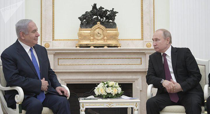 """بوتين لنتنياهو: """"أذكر دعوتكم لزيارة إسرائيل"""""""