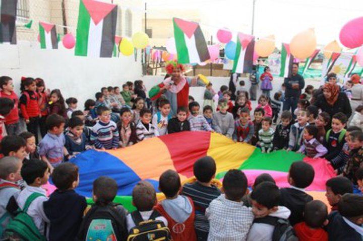 شبكة حماية الطفولة تحيي يوم الطفل الفلسطيني في محافظة جنين