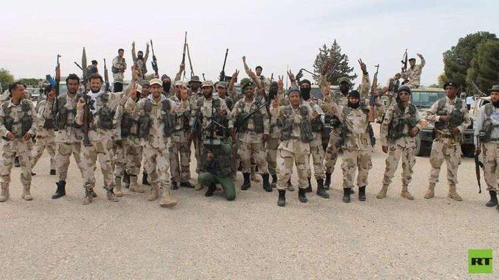 """الجيش الليبي يبدأ تحرير المنطقة الغربية ويسيطر على """"صرمان"""""""