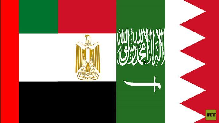 بيان رباعي عربي يتهم قطر بالإرهاب