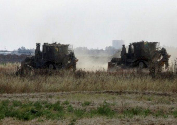 توغل محدود لاليات الاحتلال شرق خان يونس
