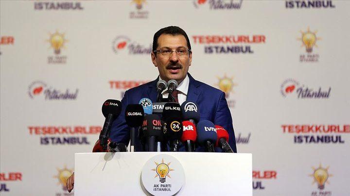 """إسطنبول.. تصحيح أكثر من 11 ألف صوتاً لصالح """"العدالة والتنمية"""""""