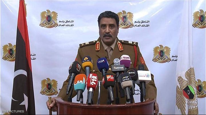 الجيش الليبي يؤكد سيطرته على مطار طرابلس