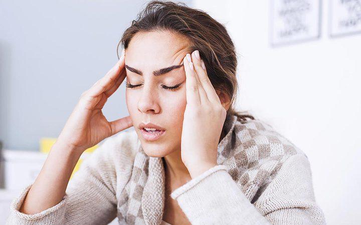 علاج صداع الرأس بالمسكنات والماء