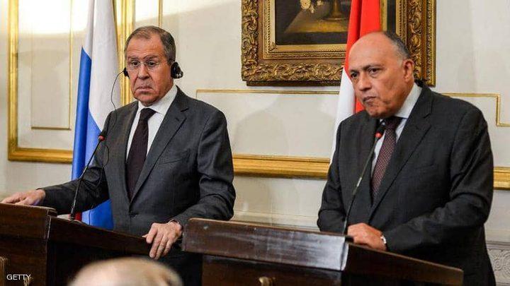 شكري: الأزمة في ليبيا لن تحل بالوسائل العسكرية