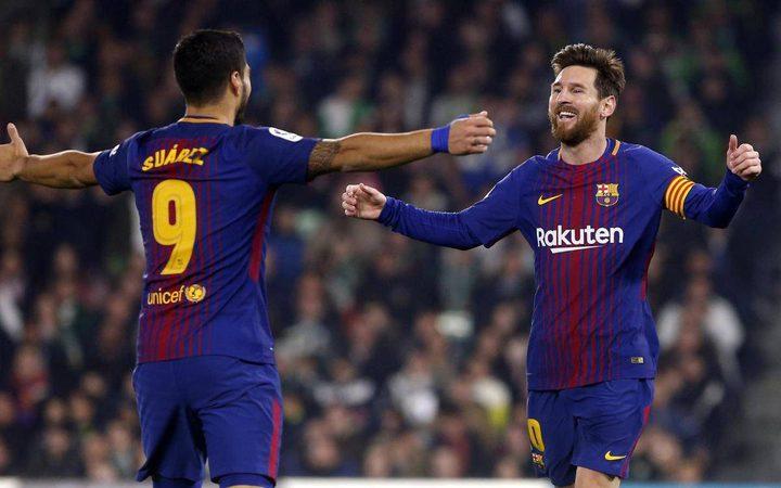 ثنائية برشلونة تقتل أحلام أتلتيكو مدريد في الليجا