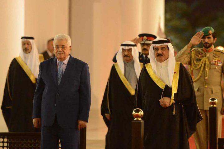 الرئيس يعزي ولي عهد البحرين بوفاة الشيخة عائشة بنت سلمان