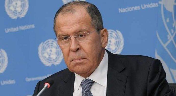 لافروف: روسيا تعارض تحويل سوريا الى ساحة للمواجهة بين دول المنطقة
