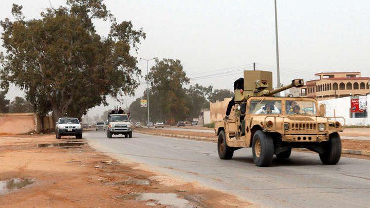 الجيش الوطني الليبي يستعيد بوابة الـ27 في طرابلس
