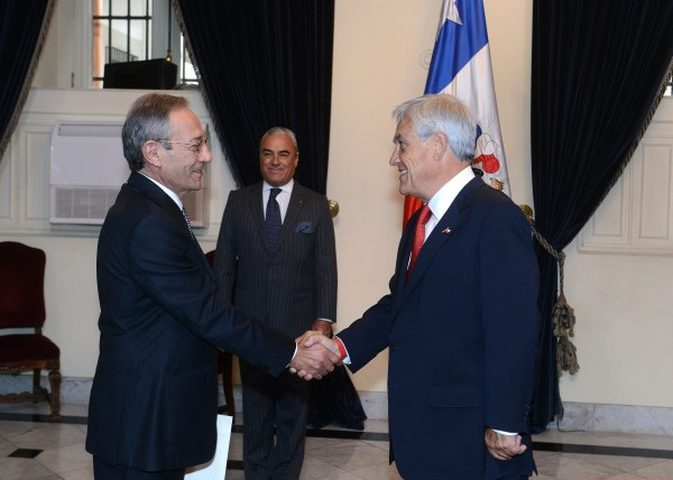 السفير الفلسطيني يطلع تشيلي على مستجدات القضية الفلسطينية