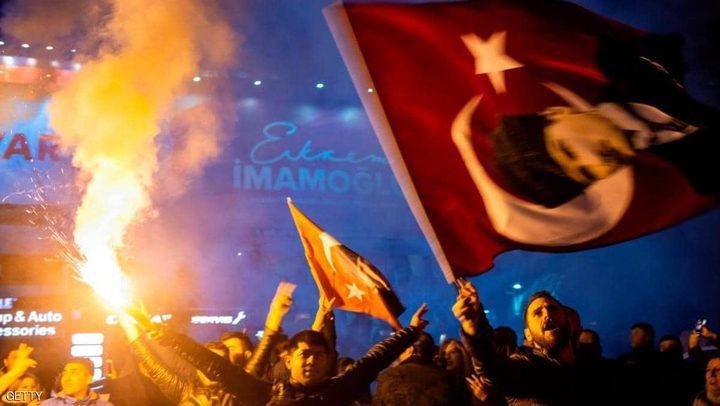 المعارضة التركية متقدمة في إسطنبول بعد فرز نصف الأصوات