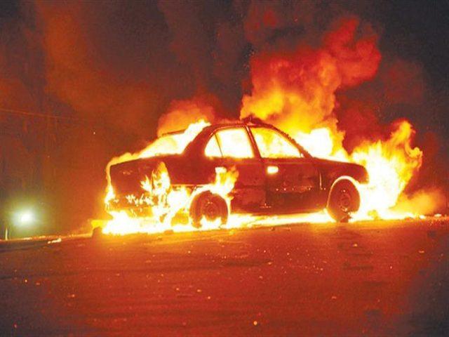 انفجار سيارة خاصة في موقف سيارات داخل إحدى مستشفيات العفولة