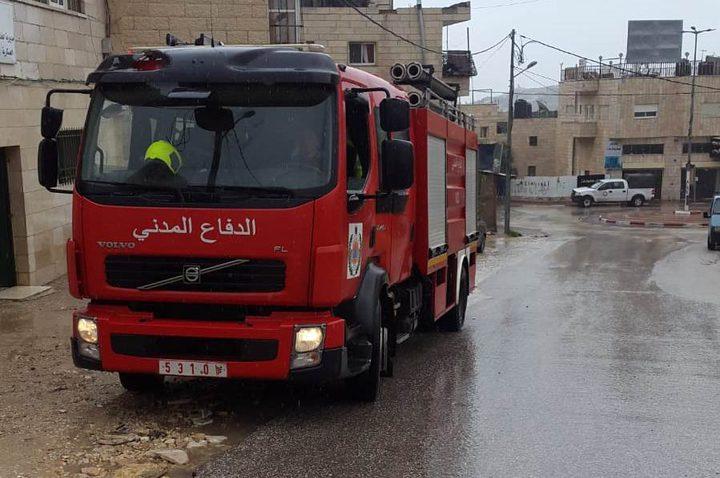 الدفاع المدني يتعامل مع 119 حادث إطفاء وإنقاذ خلال أسبوع
