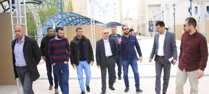 جامعة النجاح تواصل الاستعدادات لإطلاق مهرجان التسوق الوطني