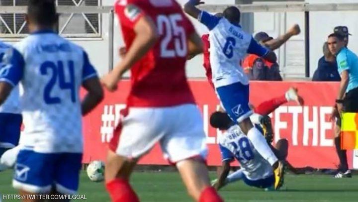 نجاة لاعب سوداني من الموت خلال لقاء النجم التونسي