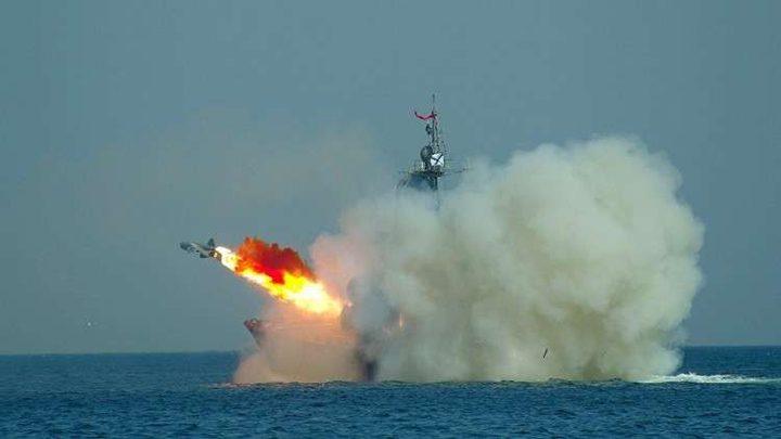 فيديو لإطلاق الصواريخ الروسية المضادة للسفن في البحر الأسود