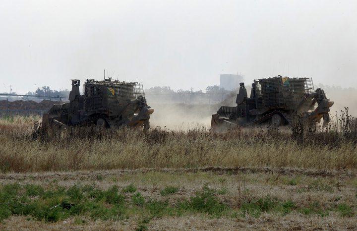 توغل 6 جرافات تابعة للاحتلال شمال غزة
