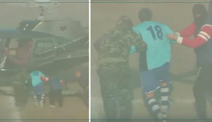 مسلحون على متن هليكوبتر يختطفون لاعبا إيطاليا أثناء المباراة