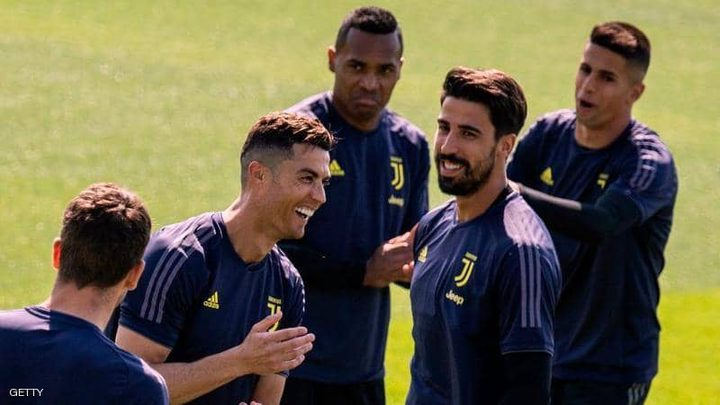 """رونالدو يعود إلى تدريبات """"اليوفي"""""""