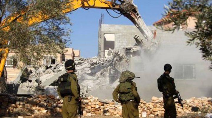 محكمة الاحتلال تصدر قرارًا بهدم 4 منازل في سلوان