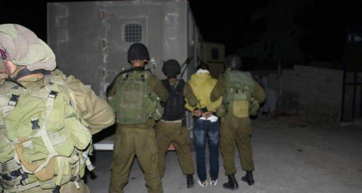 الاحتلال يعتقل شقيقين من بلدة قباطية جنوب جنين