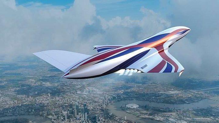 """""""طائرة فضائية"""" تنقلك من لندن إلى نيويورك في أقل من ساعة"""